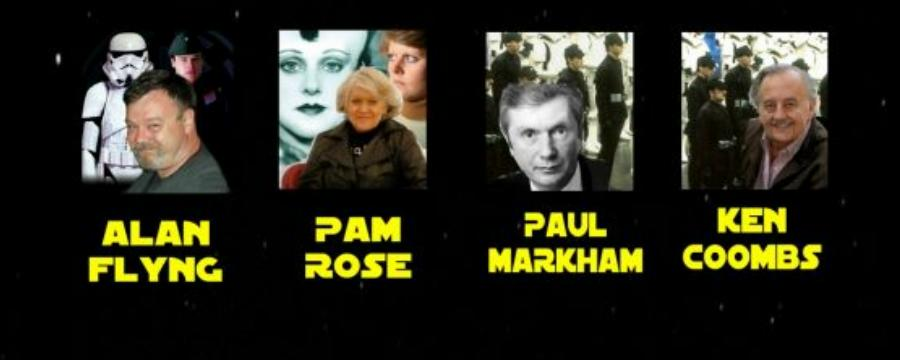 Alan Flyng, Pam Rose, Paul Markham, Ken Coombs