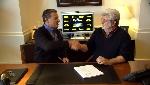 vous pourrez voir le patron de Disney, Bob Iger, et George Lucas, parler de la vente. Iger, notamment, parle de films, parcs d'attractions et autres séries télé.